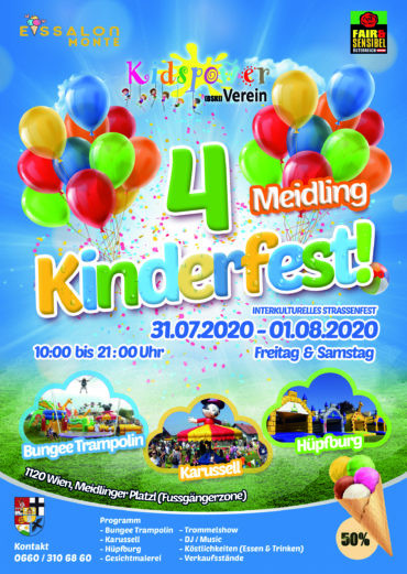 Kinderfest 31.07.2020 – 01.08.2020